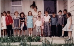 Lynn Gershman, Laurie Favinger, Doug Zerbe, Amy Grandrath, Carolyn Jarrell, Gina Guthrie (mom and little brother) Wendy