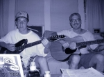 My son Harrison and I (Kevin) jamming.  He is a brilliant guitar player.  I suck.