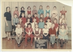 Grade 1 - Stanton  FRONT ROW: Jerry Welch, Kathy Moore,??, David Newth,Jeff Gustafson, Ruth Goldner  SECOND ROW: ??,??,?