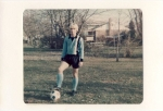 Mark Riffe in the JDHS soccer team uniform.  What ever happened to real shorts!