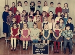 Grade 1 - Stanton  Top Row - ?, Linda Sue ?, ?, Jim Breault, ?, George Laskaris, Henry Scubelect, Jamie Hawkins // ?, Su