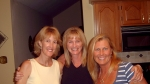 Karen Lloyd Hoeschel, Yvonne Gormel Maurer, Austine White Enderle, on September 5, 2007 meeting to plan what they are go