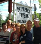 The next brunch hour at good ol' Deer Park with the last survivors!  What a great meal!
