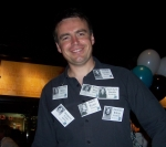 Who was this charming fellow with the awesome tag collection?